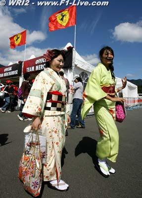 Sushi, geishas y F1