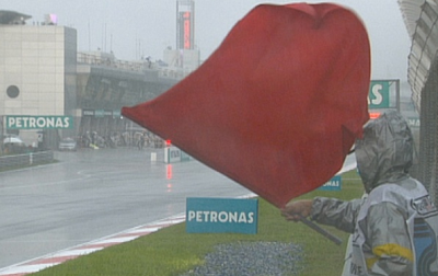 Bandera roja Sepang 2009