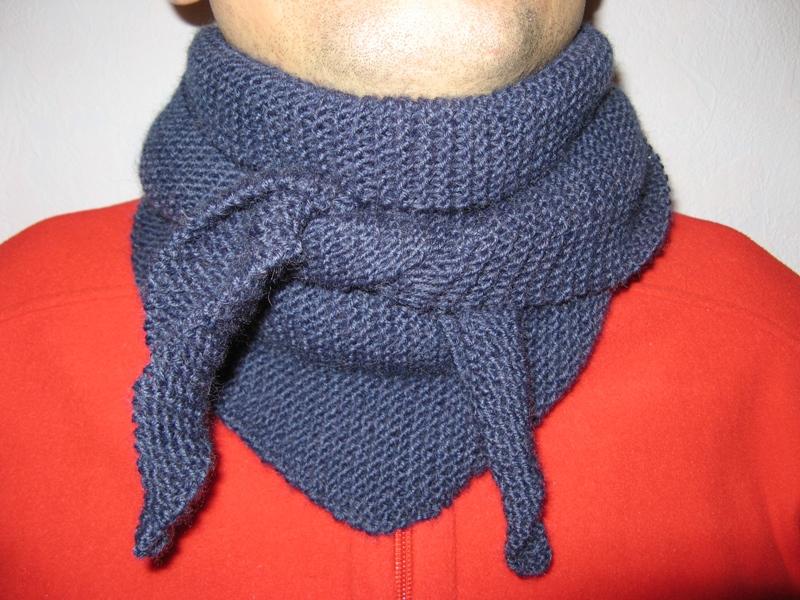 103Мужской шарф своими руками быстро