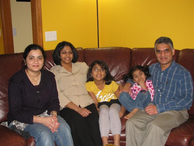 Suma & Raja Shankar family