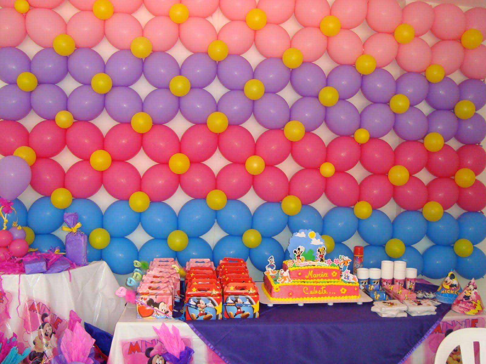 Decoracion con globos para fiestas infantiles tattoo - Decoracion fiesta infantil ...
