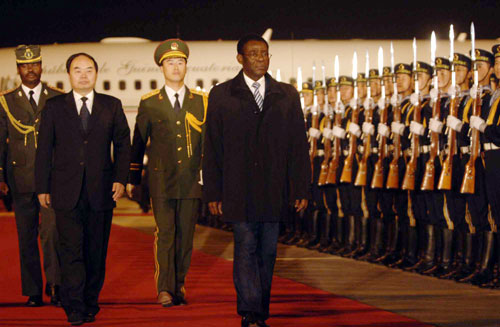 PRESIDENT OBIANG CHINA