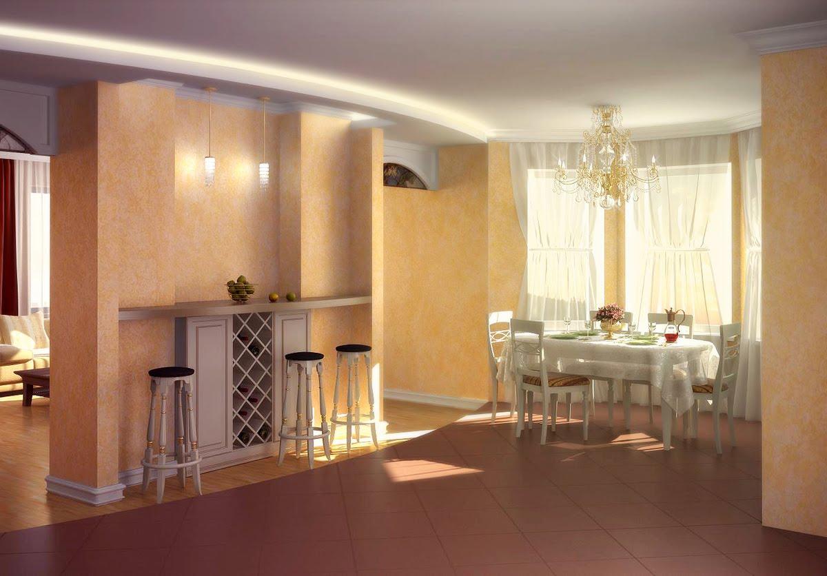 Жёлтые кухни фото дизайн
