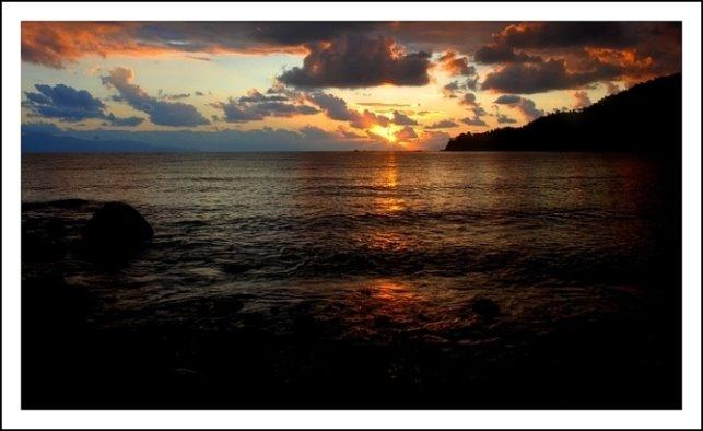 153- Mazı'da gün batımı...