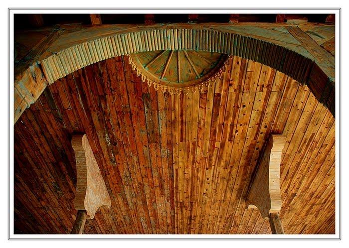 293 - Ahşap tavan