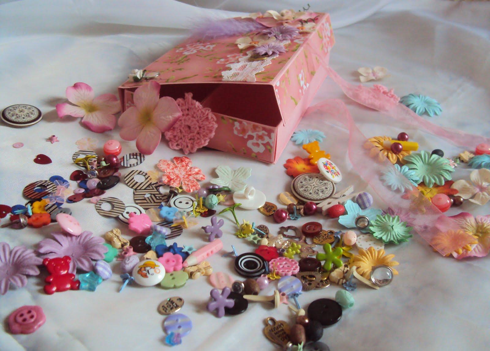 Коробочка с сокровищами от Tatы