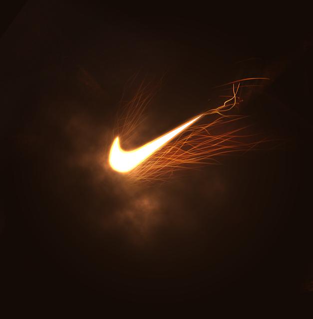 Nike Tick Logo by Tie