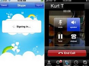 skype phone vs iPhone