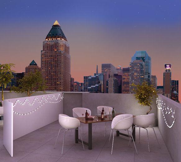 Colores para decorar azoteas y terrazas espacios para for Ideas para decorar azoteas