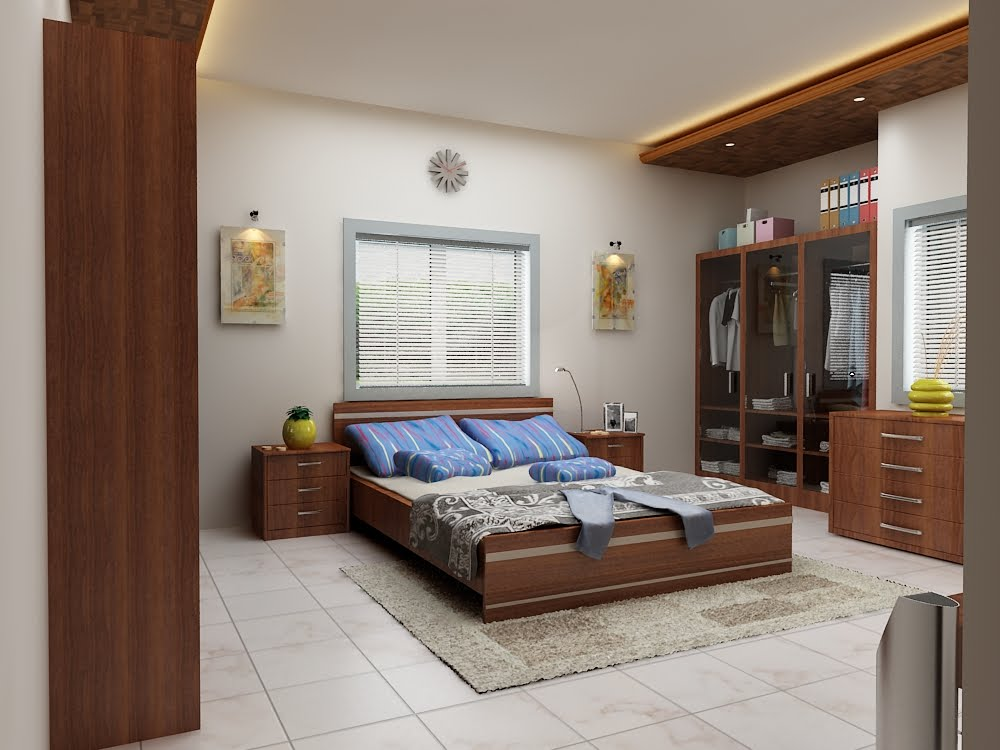 3d animation 3d rendering 3d walkthrough 3d interior - Interior design for bedroom in india ...