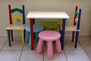 set masa si scaune copii