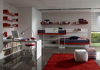 camera tineret mobilier si organizare spatiu
