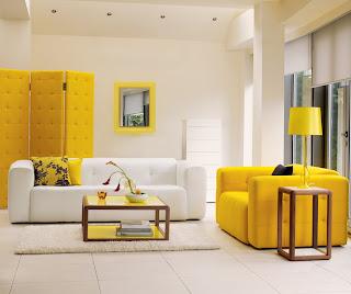 mobilier nou combinatie piele cu lemn natur