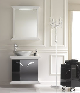 baie stilul anilor 1800 simpla spatioasa alb si negru