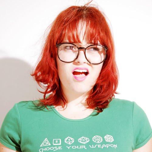 nerd girl troll
