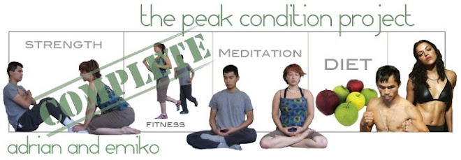 The Peak Condition Project - Adrian and Emiko
