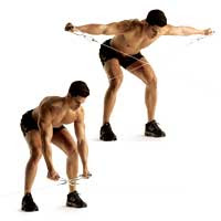 Mark 39 s training blog saturday 39 s workout full body for Floor underhand cable fly