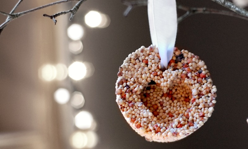 thrifty gifts bird seed ornaments for outdoor use - Outdoor Christmas Tree Decorations For Birds