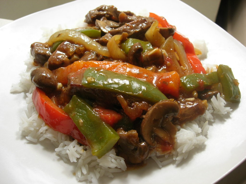 The Cooking Academic: The Holy Grail: Mom's Pepper Steak