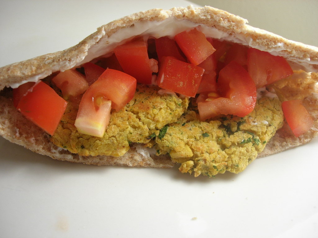 The Cooking Academic: Baked Falafel with Tzatziki