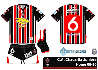 Camisetas Chacarita Juniors