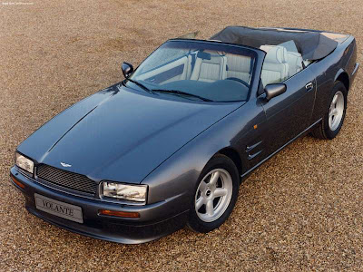 Aston Martin Auto 1990 Aston Martin Virage Volante