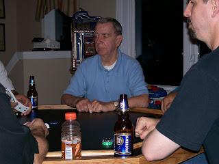 Mr. C playes poker