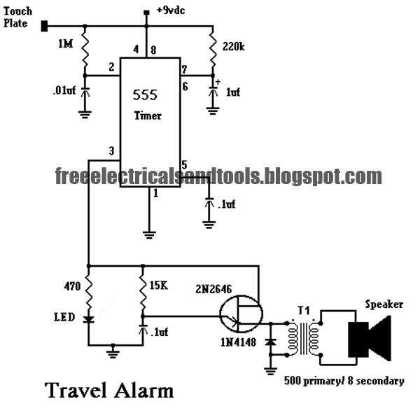Door alarm door alarm using ic 555 pictures of door alarm using ic 555 sciox Images