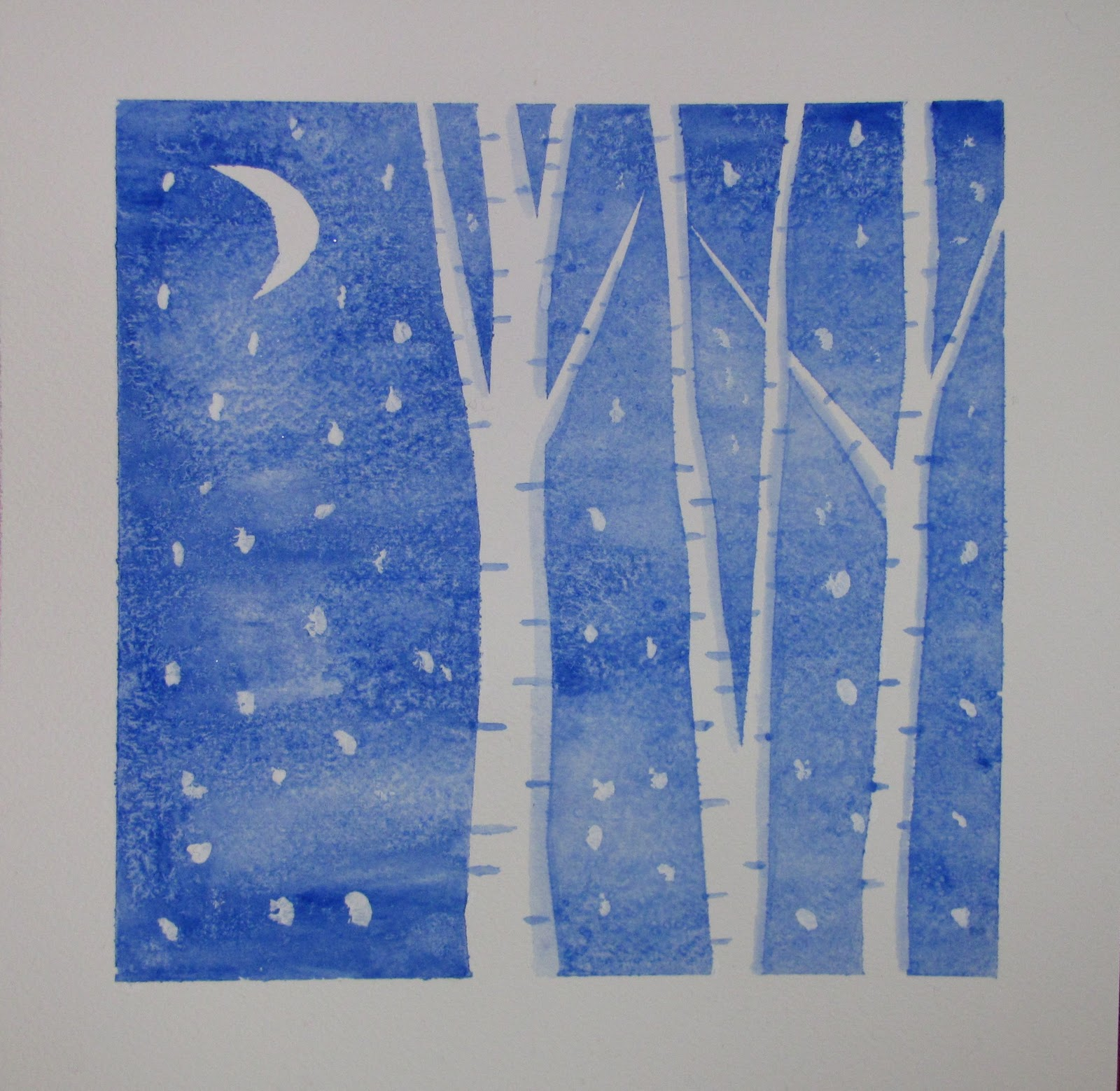 easy winter art projects kindergarten new calendar
