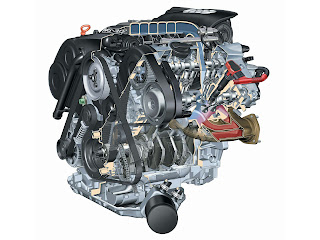 V 12 car engine