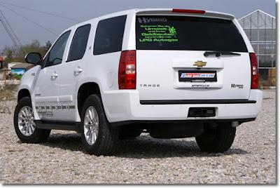 2010 GeigerCars.de Chevrolet Tahoe Hybrid Tri-Mode