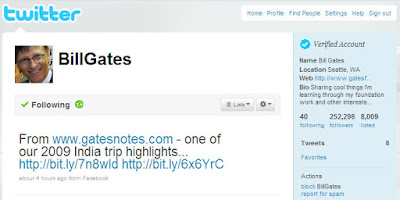Bill Gates is now on Twitter