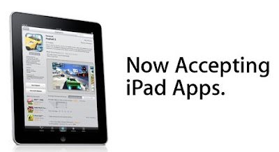 Apple officially wants developers to submit their iPad Apps at the App Store