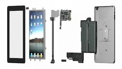Looking deep inside iPad parts