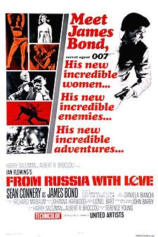 From Russi with Love James Bond Movies and Actors