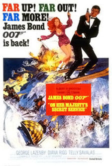 On Her Majesty Secret Service James Bond Movies and Actors