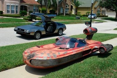 Homemade X-34 Star-Wars Landspeeder