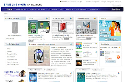 Samsung Mobile Application Store