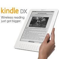 Amazon's Kindle DX gets official vs. Sony reader vs. Apple Media Pad?