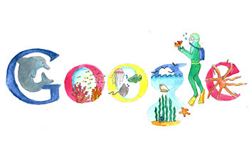Doodle for Google: Cleaner Oceans for the World
