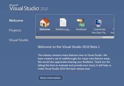 Visual Studio 2010 and .NET Framework 4.0 Public Beta 1 ready for download