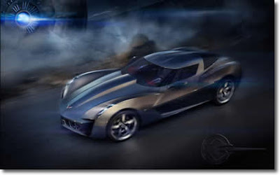 Chevrolet Corvette Stingray Hybrid Concept on Latest Car Photos  Chevrolet Corvette Stingray Concept