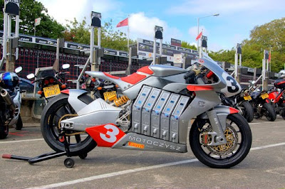 MotoCzysz E1pc world's most advanced electric motorcycle