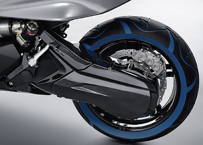 BMW Concept C: TRON-ish Scooter Concept