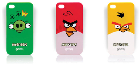 Angry Birds iPhone 4 case