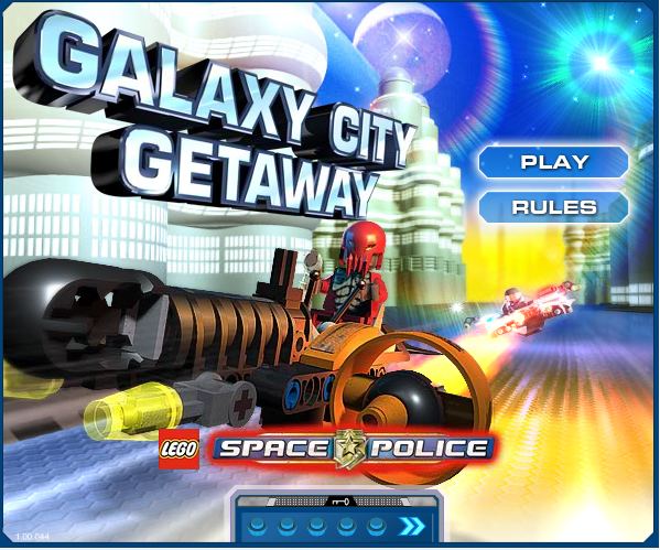 New Space Police Game | The Brick Blog