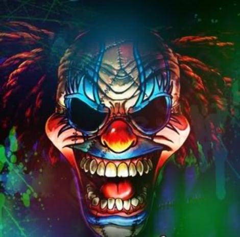 how to draw a crazy clown