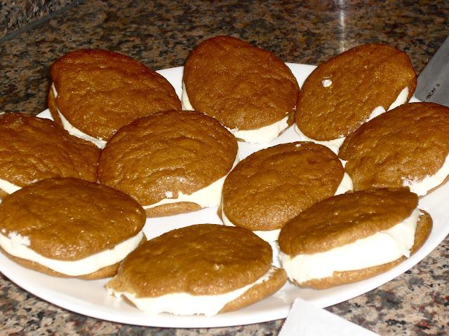 Pumpkin Whoopie Pies.