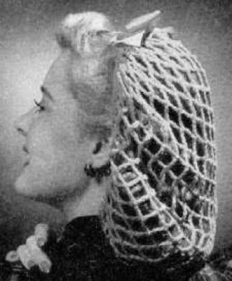 Hair Snood Knitting Pattern : Retro Ways: Snoods of the 1950s