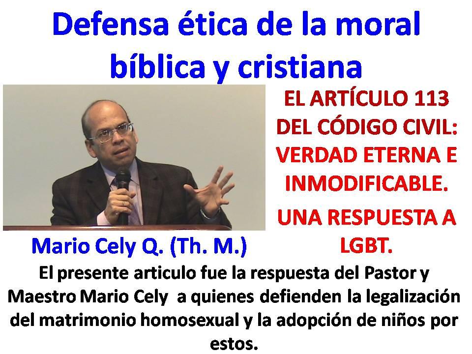 Mario Cely Q. (Th. M.)